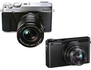 Fujifilm announced the launch of their X-E2 interchangeable lens camera (image: Fujifilm)
