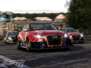 A screenshot of Need For Speed Shift (image: EA)