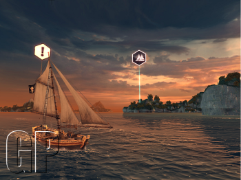A screenshot of Assassin's Creed Pirates (image: Games Press)