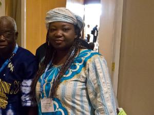 Nigerian development consultant Nnenna Nwakanma (image credit: Tony Carr: http://www.flickr.com/photos/tonycarr/)