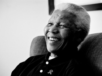Former President Nelson Mandela has passed away at his house in Houghton on 5 December (image: Matthew Willman)