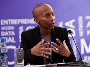 Alice Munyua, who is leading the dotAfrica Reserve Name List (RNL) process. (Image source: Flickr/The Internet Society)