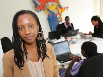 Clarisse Iribagize from Rwanda. (Image source: