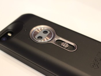 FLIR's One iPhone 5 accessory for heat detection (image: Charlie Fripp)