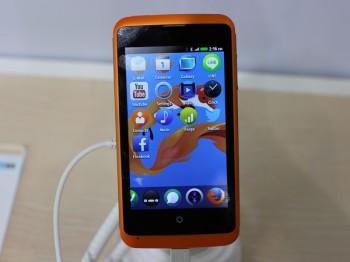 Firefox OS running on an ZTE smartphone (image: Charlie Fripp)