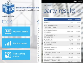 has been made easier and less stressful thanks to the availability of the official IEC South Africa app (image: file)