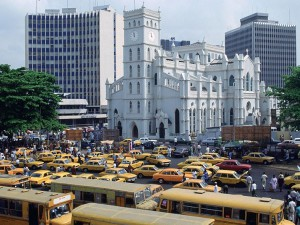 navigate traffic in Lagos