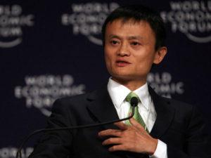 China's top e-commerce businessman Jack Ma arrives in Kenya.