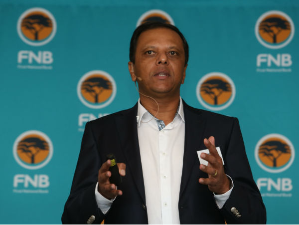 Raj Makanjee, CEO of FNB Retail