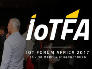 IOT Forum Africa 2017 will be held in Johannesburg, South Africa