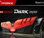 ASUS ROG certified memory product, the T-FORCE DARK memory.