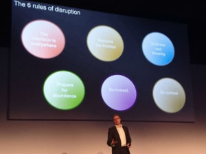 6 rules of disruption.