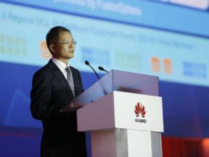 Eric Xu, Huawei's Deputy Chairman and rotating CEO.(image: Huawehoc.com)