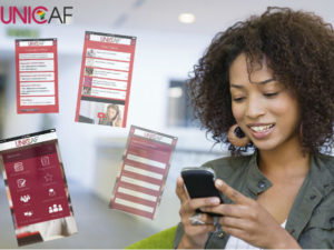 UNICAF offers Virtual Learning Environment where study material is available.