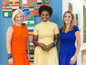 Left to right: Carolyn Everson – VP Global Marketing Solutions Facebook, Nunu Ntshingila – Regional Director Africa Facebook, Nicola Mendelsohn – VP EMEA Facebook.