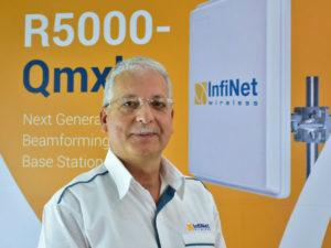 Kamal Mokrani, Global Vice President, InfiNet Wireless.