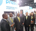 Members of the PRASA and Huawei-Altec consortium at the announcement.