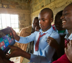 Microsoft education apps to aid learning in Kenya.