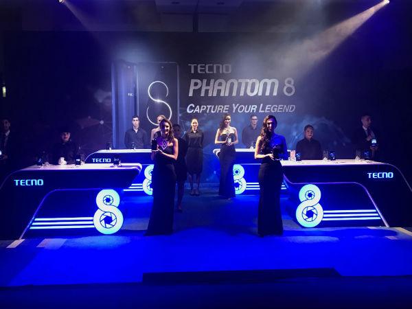 Tecno Mobile launches Phantom 8
