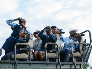 Aspiring young African wildlife photographers get great shots with Canon