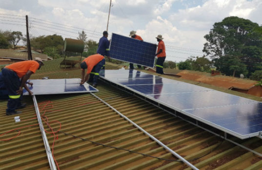 Solar project brings relief to Malawi health facilities