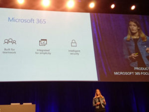 Microsoft Tech Summit 2018: moving to the modern workplace with office 365