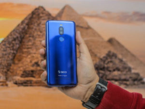 SICO-Nile X, Locally manufactured smartphone in Egypt .