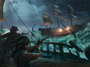 Sea of Thieves has officially arrived