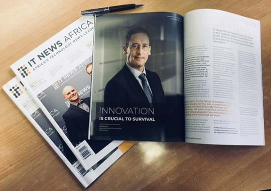 IT News Africa magazine issue 1 2018