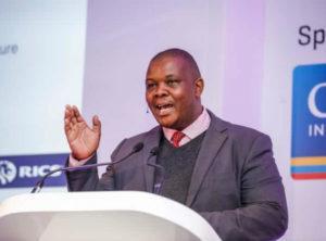 Gauteng Infrastructure Development MEC Jacob Mamabolo