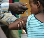 According to the World Health Organization, an estimated 450,000 children under five years of age die each year from vaccine preventable rotavirus infections