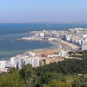 Algiers coast, Algeria