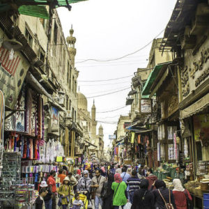El Moez Street, Old Cairo, Egypt