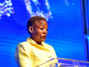 Ms Pinky Kekana, Deputy Minister at Department of Communications