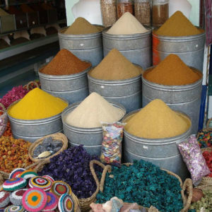 Spices in Marrakesh, Morocco