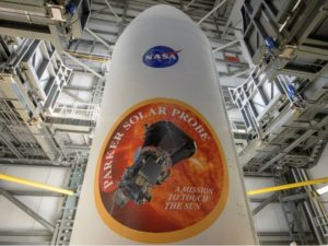 NASA counted down Friday to the launch of a $1.5 billion spacecraft that aims to plunge into the Sun's sizzling atmosphere and become humanity's first mission