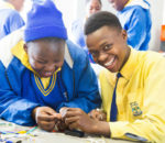 South African learners use AI and Robotics to solve community problems