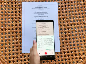Real-Time text translation with TextGrabber for Android
