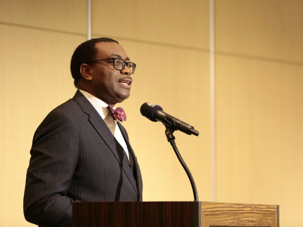 The President of the African Development Bank Group, Akinwumi Adesina