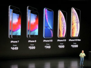 Apple unveils iPhone XS, XS Max and XR