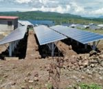 The new 20-kilowatt solar power microgrid provides power to communities on Ringiti Island