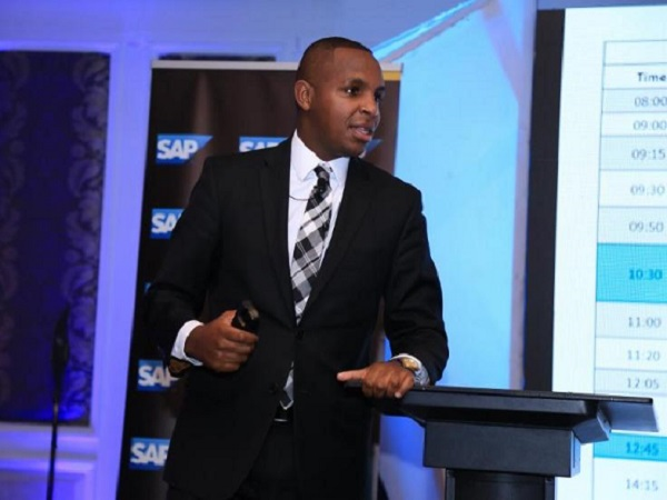 Joseph Kanyua, Head of Innovation & Customer Experience Solutions at SAP East Africa