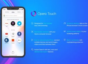 Opera launches Opera Touch for new Apple devices