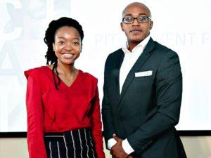 Tebogo Mokwena and Kamogelo Kekana co-founders of Akiba Digital