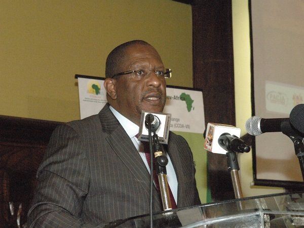 Kenya's Environment and Forestry Minister, Keriako Tobiko