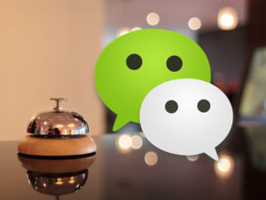 WeChat recently partnered with InterContinental to open a smart hotel in Shanghai.