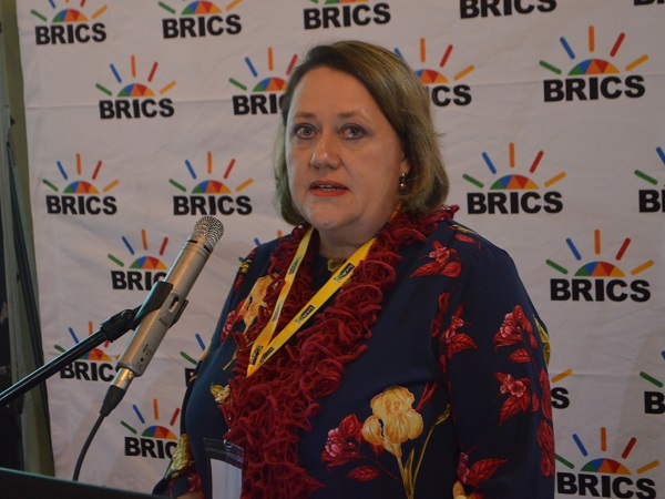 Chief Director of Future Production Technologies at the Department of Trade and Industry (the dti), Ms Ilse Karg