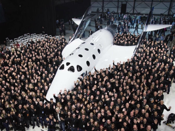 Virgin Galactic reaches for the stars