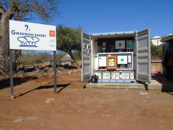 Gwakwani gets access to sustainable energy and water