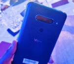 The new LG V40ThinQ brings content to life with 5 cameras